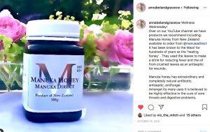 Insta review mgo 83+ manuka honey
