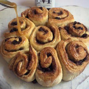 Manuka honey uk drizzled buns pipped