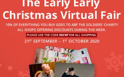 EEC VIRTUAL CHRISTMAS FAIR – 10% OF EVERY PENNY SPENT GOES TO ABF THE SOLDIERS' CHARITY – WIN WIN!