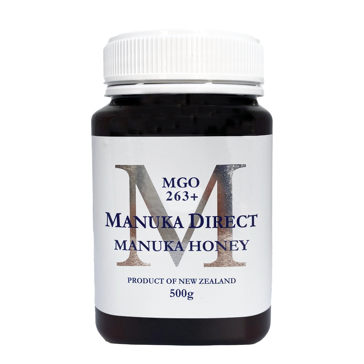 V3 Metalic M Cut Out - Manuka Direct MGO 263+ 500g